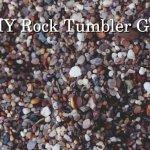 DIY rock tumbling grit substitute make your own tumbling medium