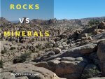 rocks vs minerals and the difference between them