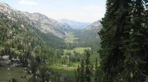 The wallowa mountains is where to find gold in the state of Oregon