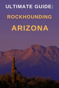 rockhounding locations in arizona