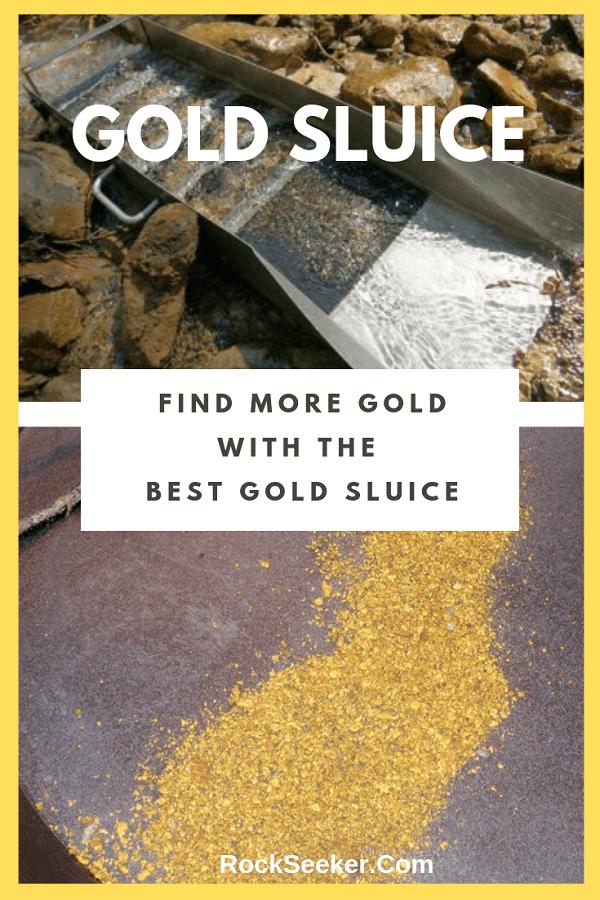 Best gold sluice box