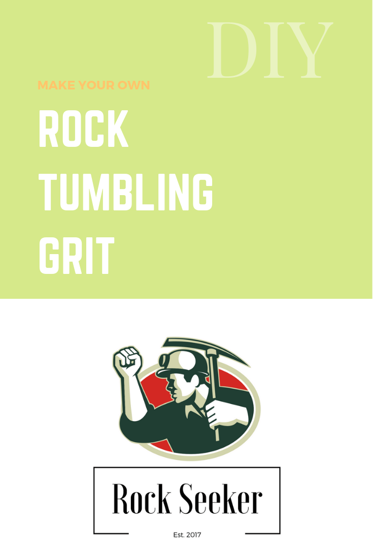 DIY rock tumbling grit
