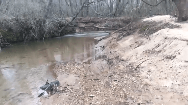 walking creeks for arrowheads