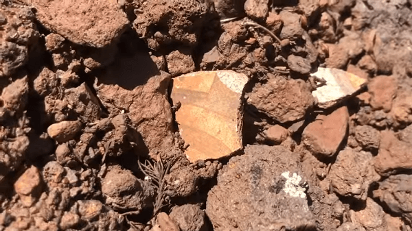 evidence of ancient indian camp site