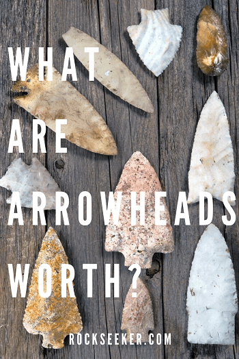 how much are arrowheads worth
