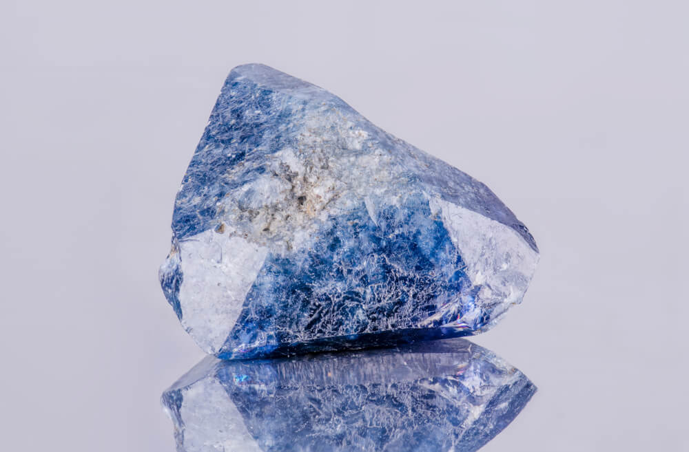 benitoite valuable gemstone