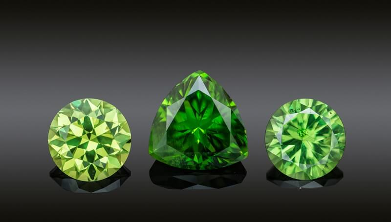 royal demantoid rare valuable gemstone
