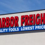harbor freight tools sign