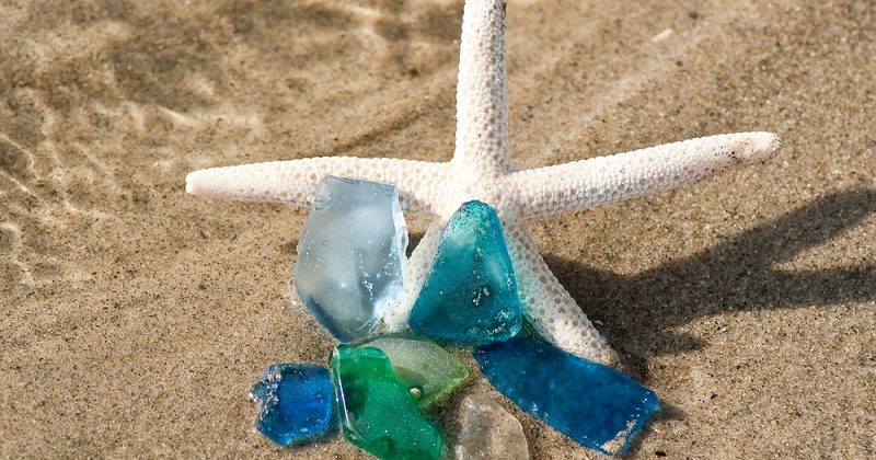 what to do with sea glass ideas