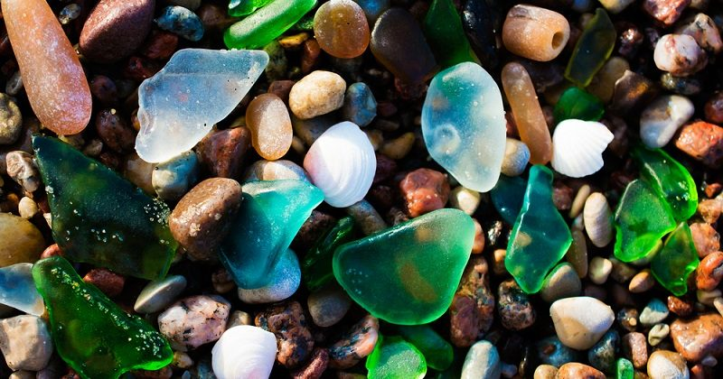 how to find sea glass