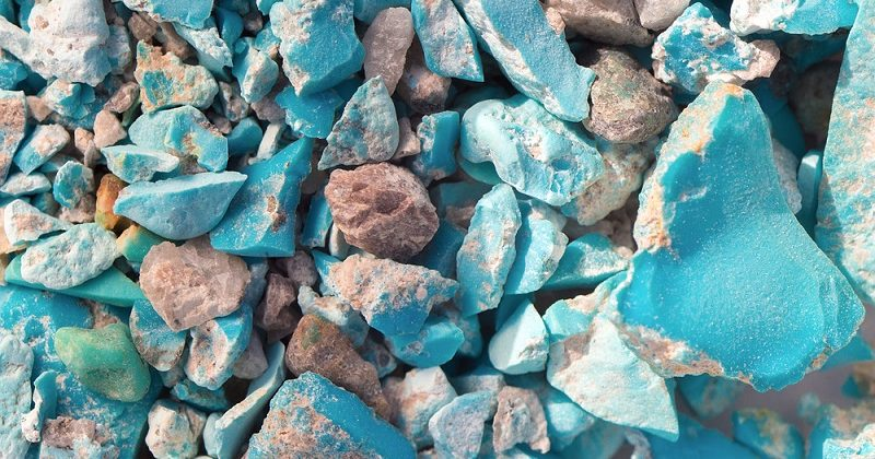 raw turquoise in nevada