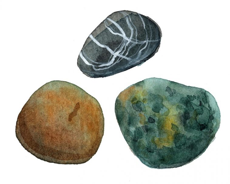 how to clean rocks and minerals
