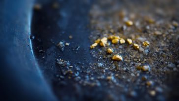 where to find gold in texas