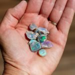 how to collect opals